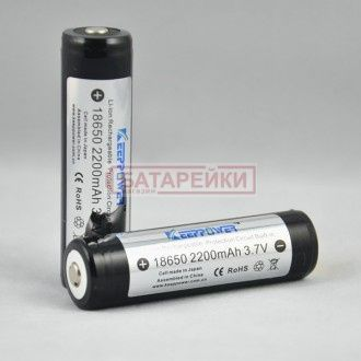 Фото - KEEPPOWER 18650 2200mAh (Sanyo)