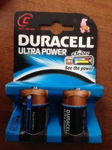 Фото - Duracell ULTRA POWER LR14(Tester)2BL