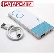 Фото - Power Bank GOLF Hive3 white-blue 3000mah