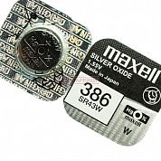Фото - Maxell SR43 W (386) G12 (NEW EUROPE)