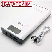 Фото - Power Bank Hoco B3 20000mah LCD White