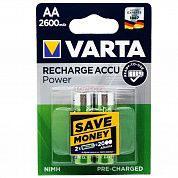 Фото - VARTA  R6,2600mAh Ni-MH  Ready to Use1х2 шт.