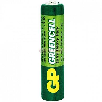 Фото - GP GREENCELL 1.5V 24G-U4 сольова R03, AAA