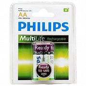 Фото - PHILIPS Ready to Use Ni-MH R06 (2000mAh) 2шт.