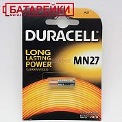 Фото - DURACELL MN27(27A) BLN 01x10 1 шт.