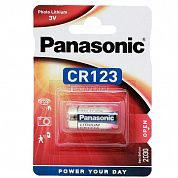 Фото - Panasonic CR123A 1500mAh 3В DL123A 3V