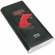 Фото - Power Bank GAME OF TRONES Xiaomi Mi 20800mAh Black (60%)