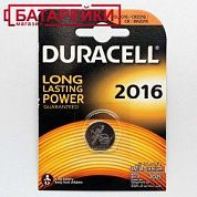 Фото - DURACELL CR 2016